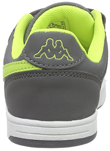 Kappa Unisex-Kinder Trooper Light Kids Low-Top Grau (1633 grey/lime)