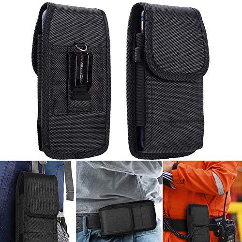 BETOY Handy Tasche Gürteltasche, Handy Gürteltasche Schutzhülle mit Gürtelclip Klettverschluss Nylon Hüftentasche für iPhone/Huawei/Honor/Samsung(4,5-5,1 Zoll Smartphones)