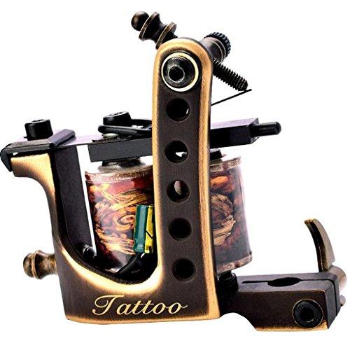 Messing- Tattoomaschine EinfüHren TäTowierungen AusrüStung Stickmaschine