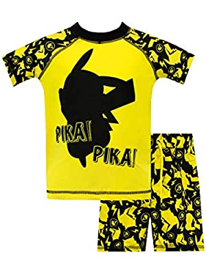 Pokèmon Bañador de Dos Piezas para niño Pikachu