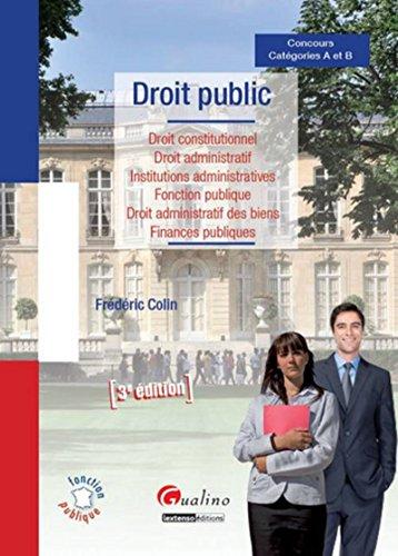 Droit public, 3ème Ed