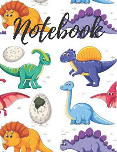 Notebook: Dinosaur Lined Journal 110 Pages (8.5x11)