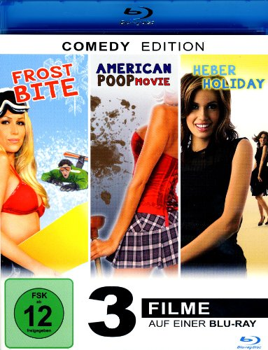 Frost Bite - Heber Holiday - American Poop (3Filme) [Blu-ray]
