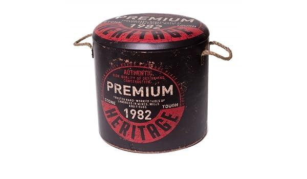 """Sitztonne /""""Premium/"""" schwarz L Sitzhocker Hocker Stauraum Aufbewahrungsbox"""