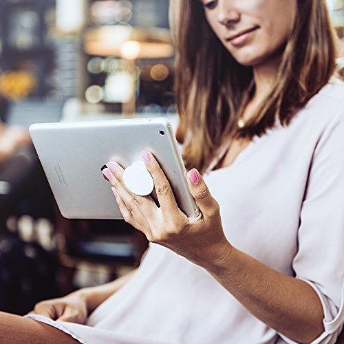 PopSockets: Ausziehbarer Sockel und Griff für Smartphones und Tablets - Black - 5