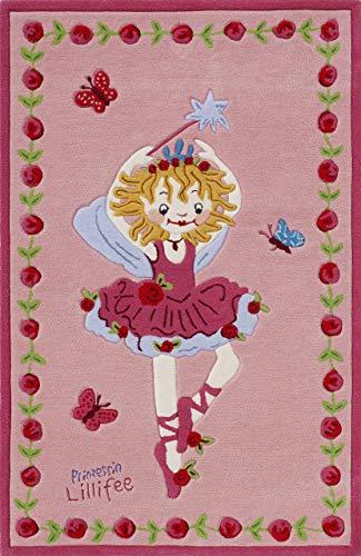 Prinzessin Lillifee LI-2200-01 Teppich, 80 x 150 cm