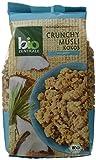 biozentrale Crunchy Müsli Kokos, 3er Pack (3 x 375 g)