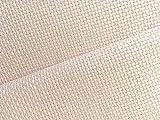 11hilos marfil/crema calidad Aida Tela de Zweigart 50 x 55 cm blanco