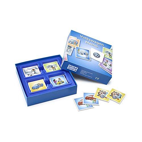 Preisvergleich Produktbild Original Volkswagen Memory Spiel Kinder Spielzeug 36 Paare Karten