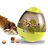 Gioco Dispenser Cibo per Cani (Grande) - Palla Educatrice per Cane/Dispenser Alimentare/Giocattoli Interattivi/Palla Educatrice Qi per Mangiare Lentamente (Verde) per Cani e Gatti di Taglia Media