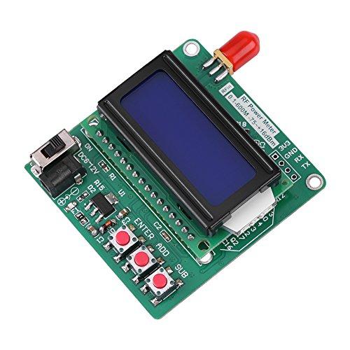 1-600 MHz RF Power Meter, Jectse Digital LCD Power Meter RF Power -75~16  dBm Valeur d'atténuation de la fréquence radio 1-600MHz