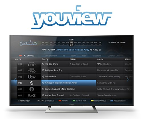 Sony Bravia KD50SD8005 50 inch Curved Android 4K HDR Ultra HD Smart TV with Youview, Freeview HD, PlayStation Now (2016 Model) – Black