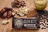 QUIN BITE BROWNIE; Rohkost Frucht- und Nussriegel; 12 Riegels (12x30g); QUIN BITE - Der leckere Rohkostriegel!