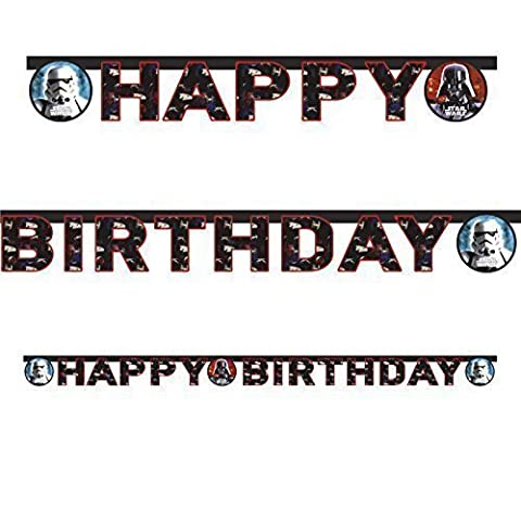 Star Wars Happy Birthday Die Cut Banner