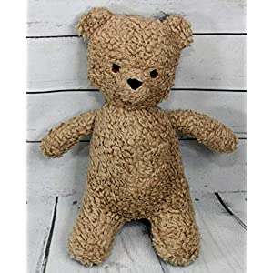 Kuschelbär Bär Teddy retro handgemacht personalisierbar 100% Baumwolle (Plüsch), 100% Polyester Füllung, ca. 29 cm groß