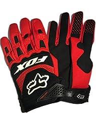 Motorrad-Handschuhe, bequem und atmungsaktiv, für Fahrrad/Motorrad, Finger-Handschuhe