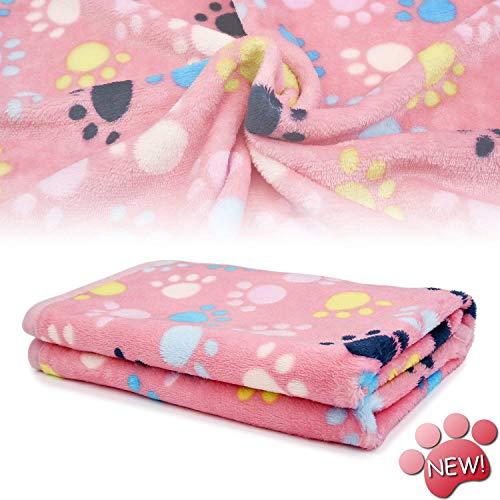 Innext Super Soft Fleece Cálido Pet perro gato edredones