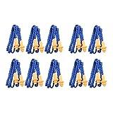 WINOMO 10 Paia di Auricolari Con Cavo in Silicone Tappi Protezione Riutilizzabile