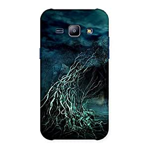 Horror Tree Back Case Cover for Galaxy J1