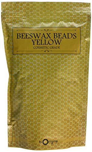 Cera de abeja en cuentas amarillas - 500g
