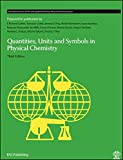 Quantities, Units and Symbols in Physical Chemistry