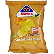 Mayka Chip de Pommes de Terre au Sel Marin Bio 70 g
