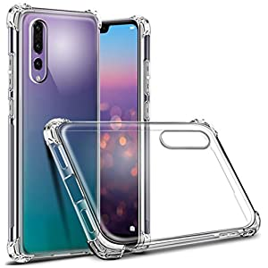 REALIKE® Huawei P20 Pro Back Cover, Branded Case with Ultimate Protection, Flexible Transparent Back Cover for Huawei P20 Pro - 2018
