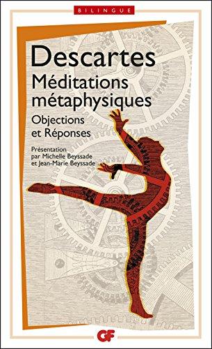 Méditations métaphysiques - édition bilingue pdf