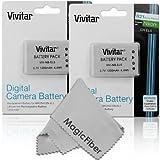 #8: (2 Pack) Vivitar EN-EL5 Ultra High Capacity 1200mAH Li-ion Batteries for NIKON Coolpix P530 P520 P510 P100 P500 P5100 P5000 P6000 P90 P80 Cameras (Nikon EN-EL5 Replacement)
