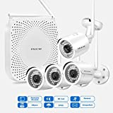 PRIKIM W6 Wireless Security Camera System 1080P WiFi - Best Reviews Guide