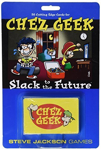 Chez Geek Slack to The Future Card Game by Publisher Services Inc (PSI)