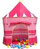 GIM Tenda gioco per bambini pop up Play casa Tent giocattolo capretti del bambino Indoor / Outdoor - Rosa