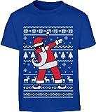KIDS Weihnachten Geschenk Dab vom Weihnachtsmann Kinder T-Shirt - Gr. 140-182