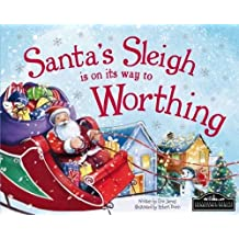 Santa's Sleigh is on its Way to Worthing
