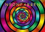 Neonfarben (Wandkalender 2019 DIN A2 quer): Ein Kalender für junge und junggebliebene Leute (Monatskalender, 14 Seiten ) (CALVENDO Kunst)