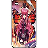Générique Coque Apple iphone 4s Fille Manga Rose