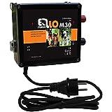 Weidezaungerät / Elektrozaungerät Ellofence M30 - Extrem leise! - für Hundezaun und Pferdepaddocks, 230V