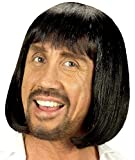 Mondial-fete - Perruque médiévale homme brune