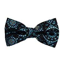 DBD7B12B Green Luxury Gift Idea Patterned Designer Poly Pre-Tied Bow Ties Working Dad Shopstyle Presents By Dan Smith