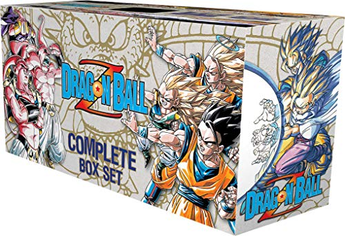 Goku and friends battle intergalactic evil in the greatest action-adventure-fantasy-comedy-fighting series ever! The Dragon Ball Z Complete Box Set contains all 26 volumes of the manga that propelled the global phenomenon that started with Dragon Bal...