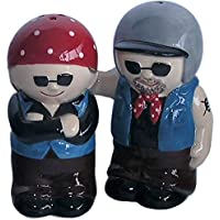 AWESOME Biker Couple Salt & Pepper Set by Simply