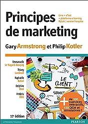 Principes de marketing 13e édition : Livre + eText + plateforme e-learning MyLab | version Française