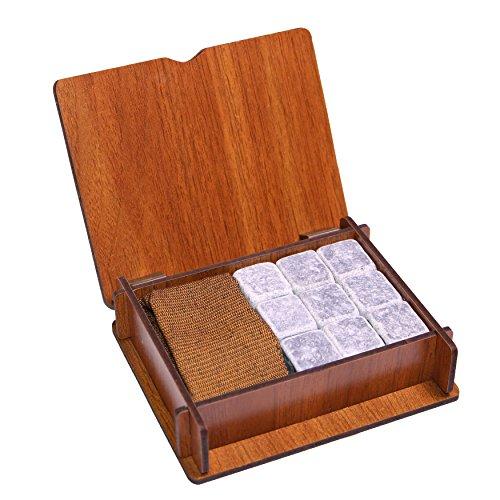 PB Collection Eiswürfelform Eiswürfel Eisstein Steineiswürfel für Getränke aus Marmor