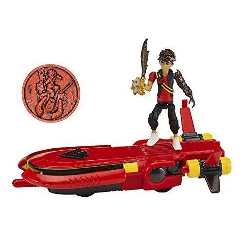Bandai Vehículo Planeador y Moneda de Zak Storm 41585