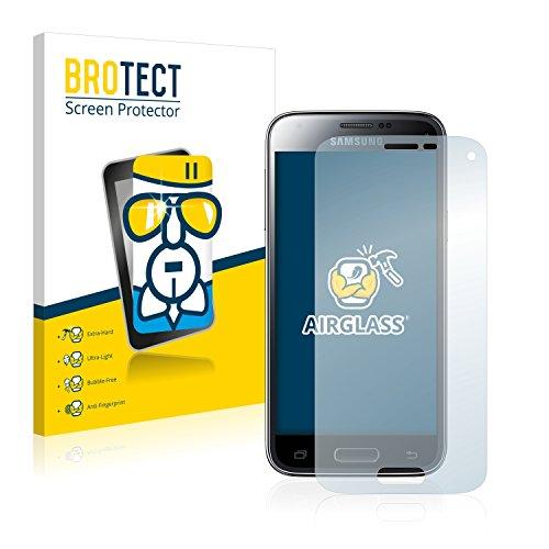 BROTECT AirGlass Flexible Glasfolie für Samsung Galaxy S5 Mini SM-G800F Schutzfolie, Glas Folie – Extrahart, Ultraleicht