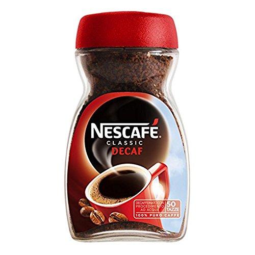 CAFFE' SOLUBILE NESCAFE' DECAFFEINATO 100 GR CAFFE' IOFILIZZATO IN POLVERE