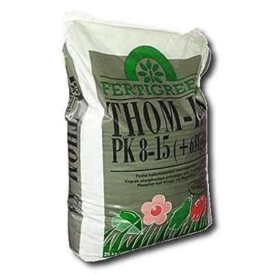 Thomaskali Gemüsedünger Kalidünger Grunddünger, 25 kg von FertiGreen - Du und dein Garten