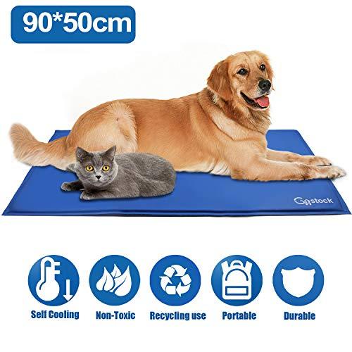GoStock Pet Cooling Mat Haustier kühlmatte Kühlmatte für Hund & Katze Haustier Eismatte...
