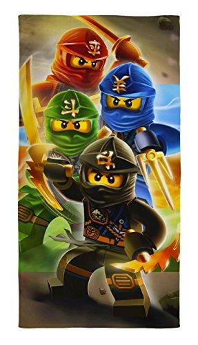 LEGO Ninjago cuadrante guerreros algodón playa toalla