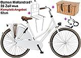 Damen Hollandrad Altec London 28-Zoll Weiß Komplett-Angebot 52cm